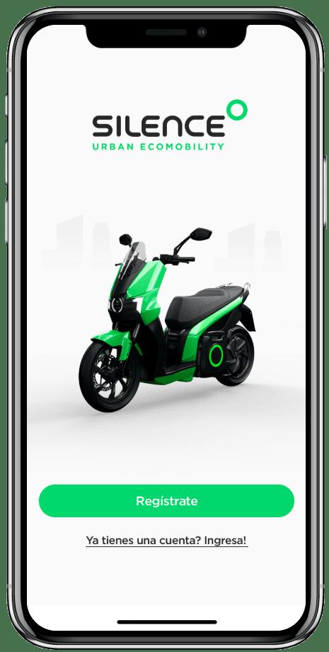 Romasilence app home